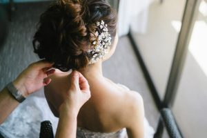 bride hair makeup